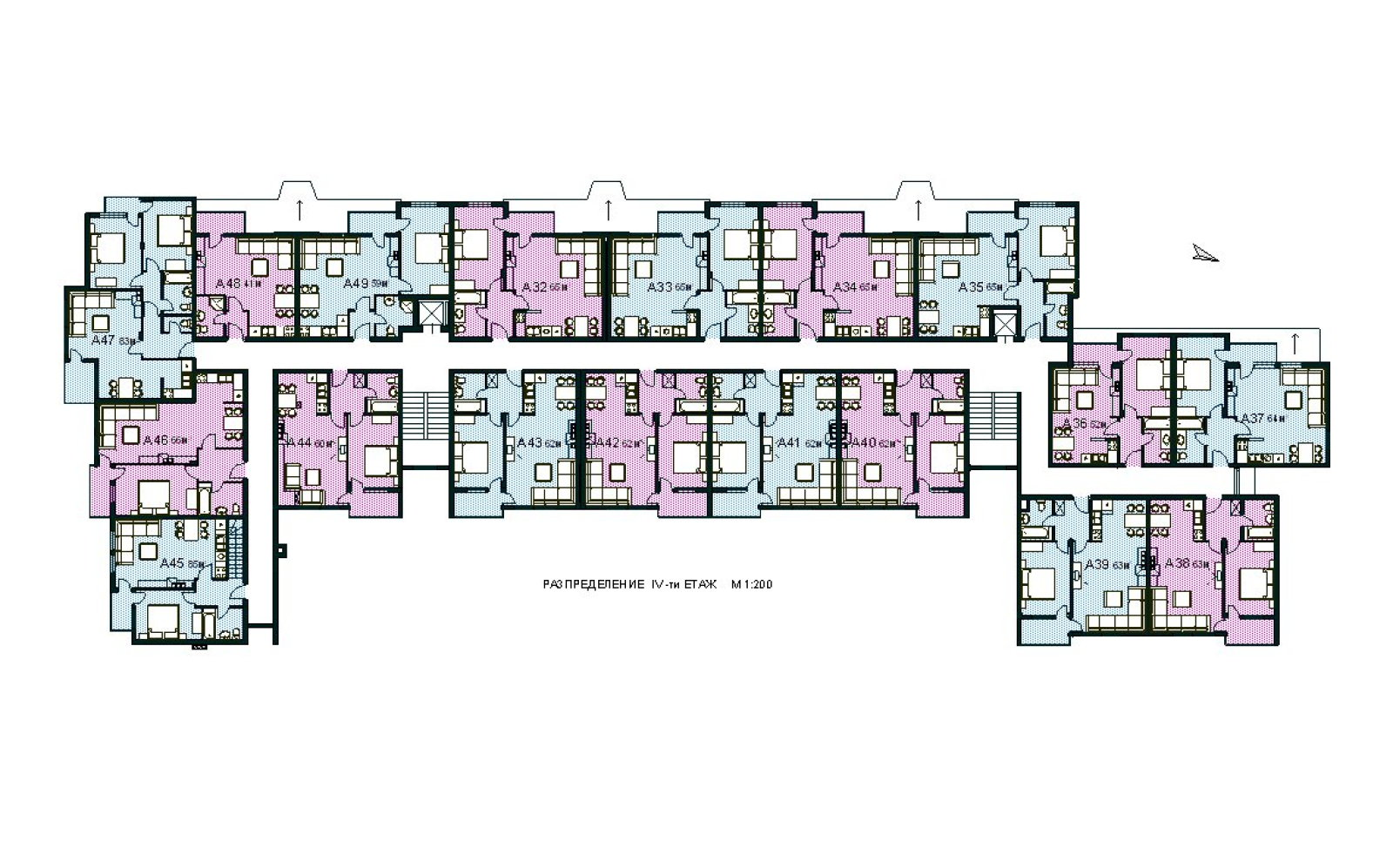 Modern Floorplans: Apartment Complex | 12 to Midnight