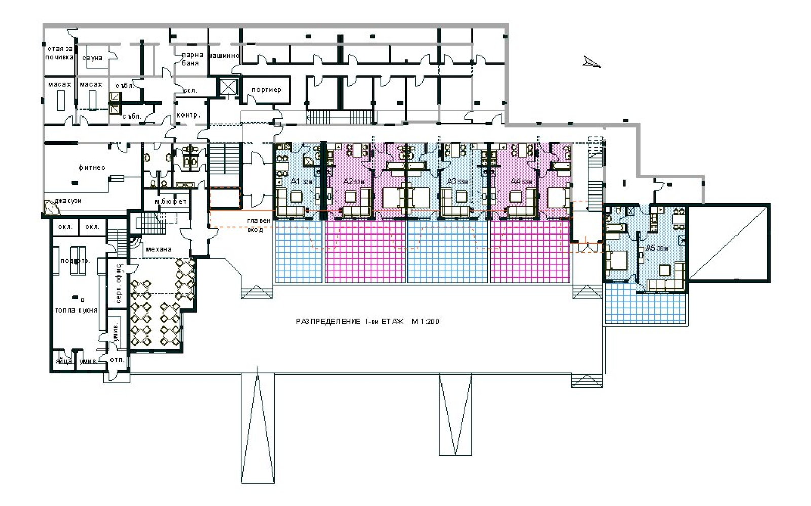 Apartment complex floor plans home plans home design for Apartment complex building plans