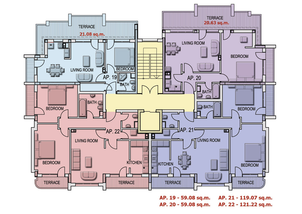 Rose red house floor plans pictures to pin on pinterest for Red floor design